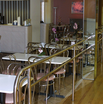 Silva Dance Studios in Long Island | Private Dance Lessons | Classic Diner Area at Silva Dance Studios